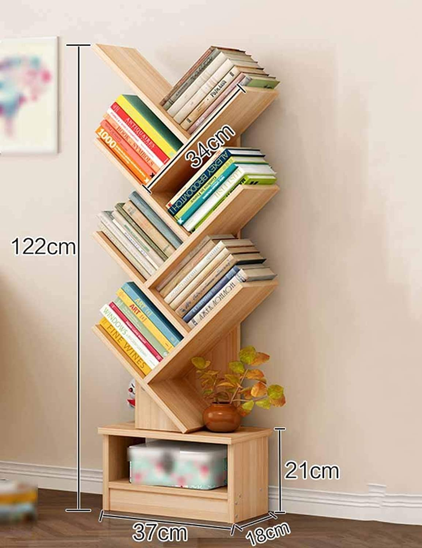 Storage Shelf TH European Bookshelf Floor Type Shelf Creative Bookcase Living Room Display Stand Simple Bookshelf Life Small Bookcase Shelf (color   Style-2, Size   B) Home Stand