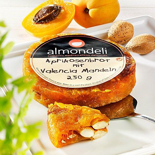Almondeli Aprikosenbrot mit Valencia Mandeln