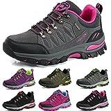BOLOG Zapatos de Senderismo para Hombre Zapatos de Low Rise Trekking Ocio al Aire Libre y Deportes Zapatillas de Running Trekking de Escalada Zapatos de Montaña Mujer