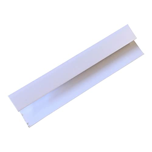 White Trims 5mm For Wall Cladding Panels White Finishing Trims PVC Wet Wall WC