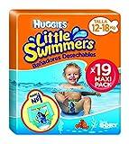 Huggies Little Swimmers L, talla 5-6 (12-18 kg), 8 paquetes de 11 [88 pañales] 95 pezzi