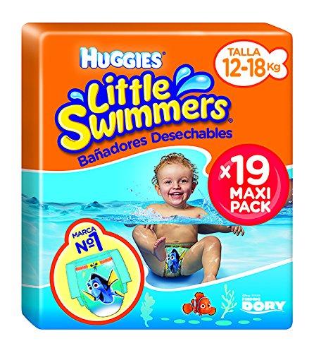 Huggies Little Swimmers - Bañadores Desechables, talla 5-6