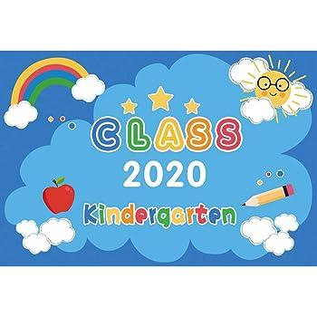 Amazon Com Baocicco 5x4ft Graduation Backdrop Class Of 2020 Kindergarten Graduation Season Blue Cartoon Background Rainbow Sun Clouds School Graduation Kids Children Celebration Photography Booth Camera Photo