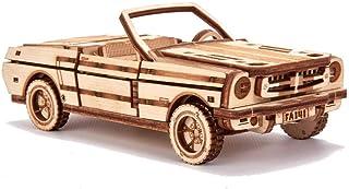Wood Trick ウッドトリック オープンカー 動かして遊べる3Dウッドパズル / 木製模型