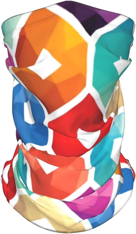 Dinosaur Neck Gaiter Multipurpose Headwear Ice Silk Mask Scarf Summer Cool Breathable Outdoor Sport 4 Pcs