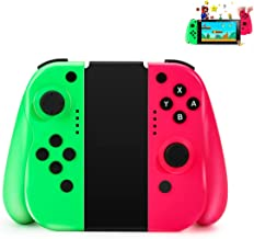 Controller wireless Powcan per Nintendo Interruttore Controller mini (L/R) Joystick Gamepad Bluetooth Joystick compatibile...
