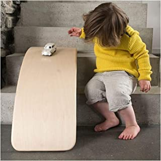Children Balance Board, Wooden Curved Yoga Board, Indoor Swing Balance Board, Kid Educational Toys To Improve Sports Skills