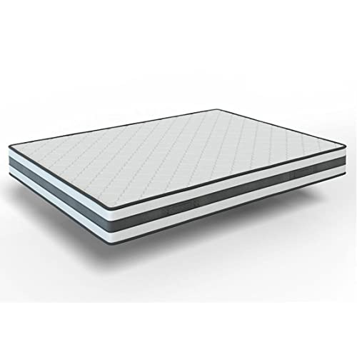 elalmacendelcolchon Colchón viscoelástico Reversible, Modelo Memory Fresh, 90 x 190 x 22cm, Cara