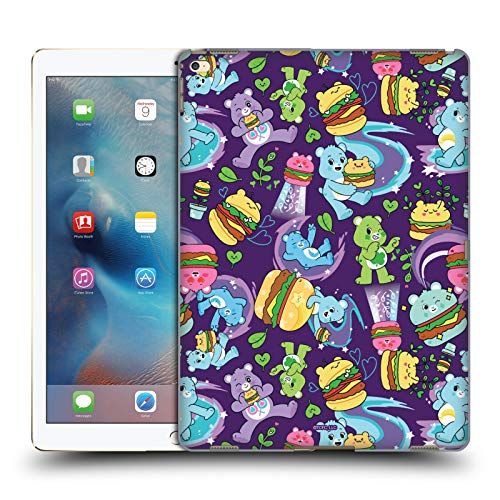 Official Care Bears Burger Pattern Sweet And Savory Hard Back Case Compatible for Apple iPad Pro 12.9 (2015)