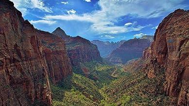 Rompecabezas de 1000 piezas Utah, Zion Canyon, río Virginia Rompecabezas de dibujos animados para niños