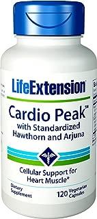 Life Extension Cardio Peak with Standardized Hawthorn and Arjuna, 120 Vegetarian Capsules