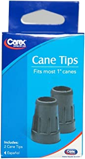 Carex Cane Tips Fits Most 1