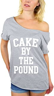 Awkwardstyles Cake by The Pound White Off Shoulder Tops T-Shirt + Bookmark