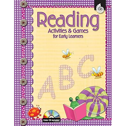Amazon.com: Reading Activities & Games For Early Learners W/CD (Early  Childhood Activities) (9781425800512): Shell Education;Denise Larose: Books