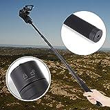 Adjustable Extension Rod, Reach Pole Handheld Gimbal Stabilizer Carbon Fiber Extension Pole Bar Telescopic Pole Monopod for Feiyu G5 WG2 SPG Stabilizer