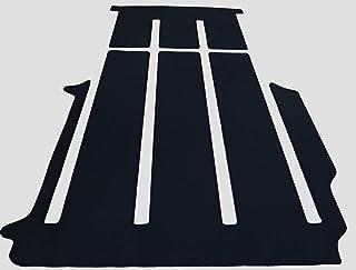autix 300056810569 Gastraum und Kofferraum Teppich Fußmatte schwarz Velour passend für VW T6 Multivan mit 1 Schiebtür