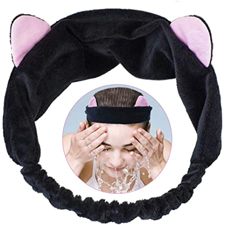 Plüsch Haarband Stirnband Haarreif Kopfbedeckung für Gesichtswäsche Make