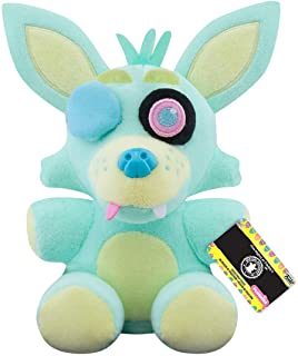 Funko Plush: Five Nights at Freddy's - Spring Colorway- Foxy (GR) Multicolor, 3.75 inches