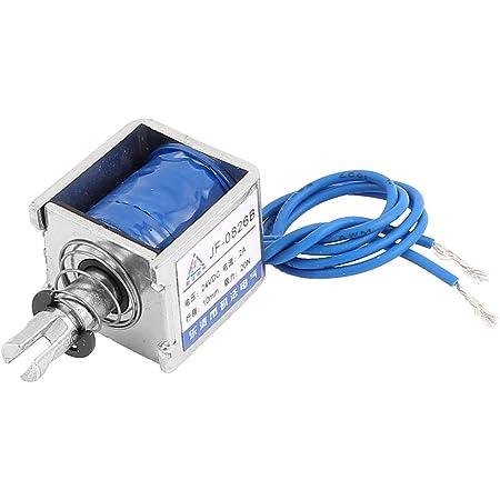 Push Pull Type DIY DC Electromagnet Magnet Solenoid 10mm 40N DC 12V 1A