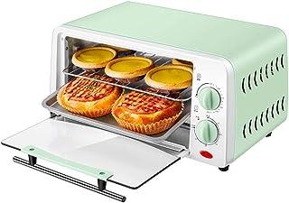L.TSA Cocina Hogar Horno eléctrico Mini Temporizador de panadería Multifuncional Tostadora Galletas Pastel de Pan Pizza Galletas Máquina para Hornear 12L