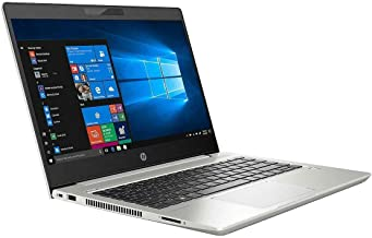 HP ProBook 440 14-Inch Business Laptop, Intel Quad Core i5-8265U up to 3.90 GHz, Intel HD 620, 8GB DDR4 RAM, 500GB HDD, USB, HDMI, WiFi, Bluetooth, FP Reader, Windows 10 Pro, Silver