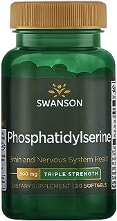 Swanson Triple-Strength Phosphatidylserine 300 Milligrams 30 Sgels