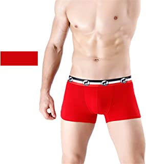 Men's 5 Pack Boxers Shorts Briefs Micro Men Trunks Comfortable Cotton Underwear Classic Fit E XXXL