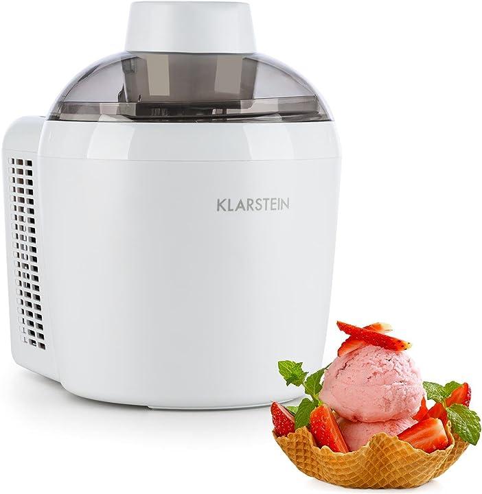 Macchina per il gelato, volume 0,3 l, 90 watt, sistema termoelettrico, programmabile, display con timer HEA6-Schneeflöckchen