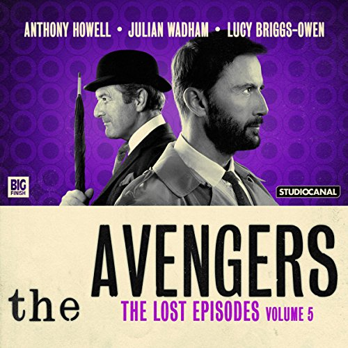 Couverture de The Avengers - The Lost Episodes, Volume 5