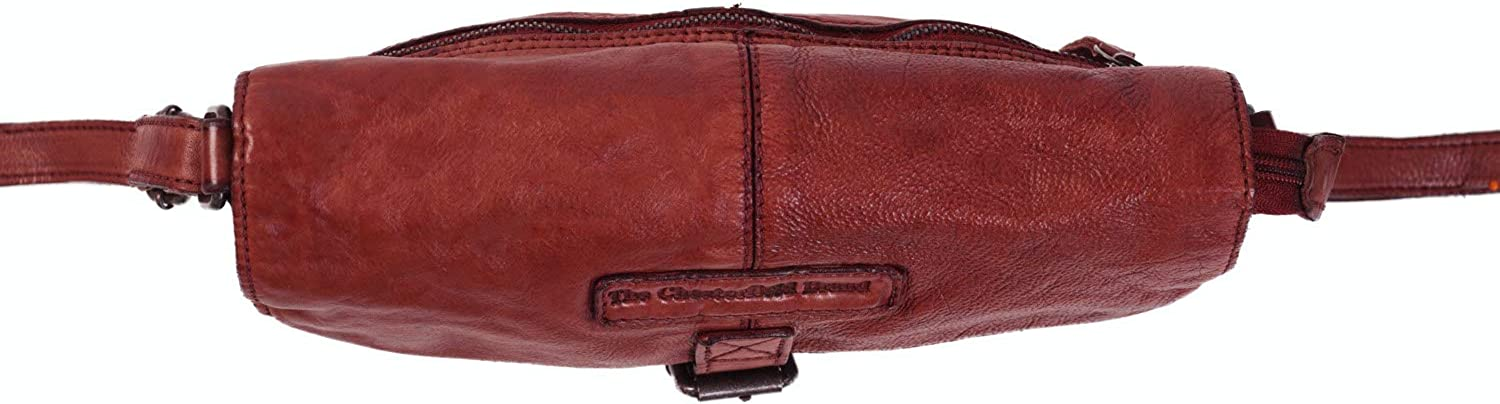 The Chesterfield Brand Liv Sac bandoulière cuir 23 cm Red