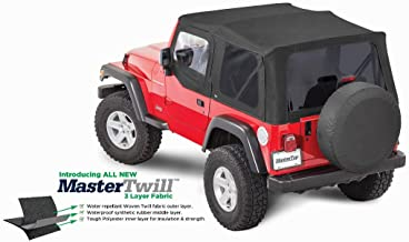 MasterTop 15211224 TJ with Door Skins 97-06 Wrangler Jeep Soft Tops