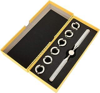JULYKAI Ouvre-boîtier de Montre, ouvre-Couvercle de boîtier arrière Remover Clé Dies Repairer Tool Set pour Rolex Oyster B...