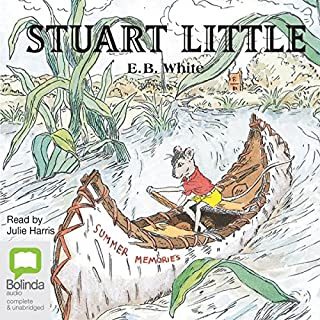 Stuart Little                   By:                                                                                                                                 E.B. White                               Narrated by:                                                                                                                                 Julie Harris                      Length: 1 hr and 54 mins     5 ratings     Overall 4.2