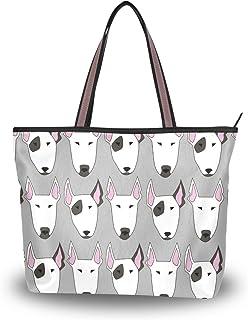 My Daily Damen Schultertasche, Bullterrier, Hund, Handtasche