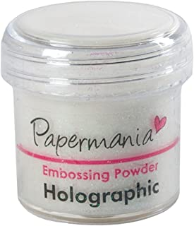 Docrafts 1 oz Embossing Powder, Holographic