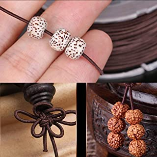 HOMYL 1 Roll Elastic Beading Threads Jewelry Making String Stretchy Cord for Bracelets