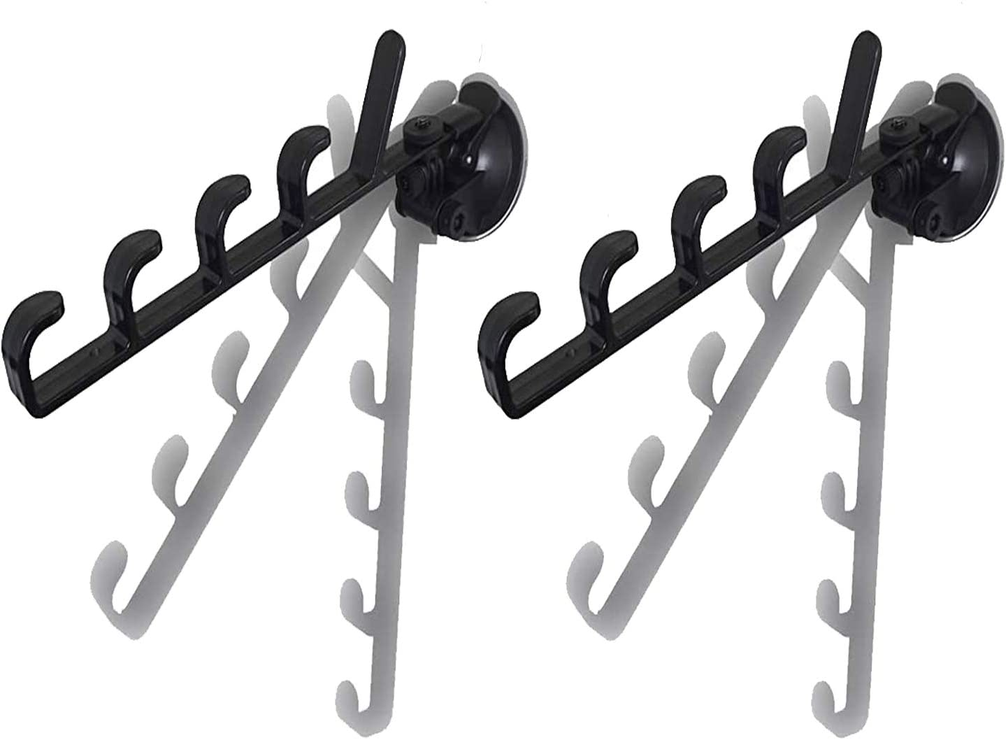 Pmsanzay 1 Pair New mail order Suction Cup Rack Fishing Sales results No. 1 Rod Pole