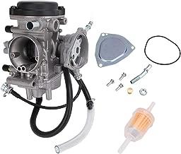 Carburetor For ATV Yamaha 2000-2006 Kodiak 400 YFM400, 2000-2006 Big Bear 400, 2004-2006 Bruin 350, 2007-2011 Grizzly 350, 2007-2012 Grizzly 450, 2006-2009 Wolverine 350, 2007-2010 Wolverine 450