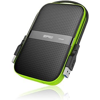 Silicon Power - Disco Duro Externo portátil para PC y Mac Armor A60 DE 2 TB (2.5
