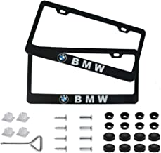 WFMJ 2Pcs Black Silicone for BMW 1 2 5 7 M Series X1 X 4 X5 X 6 F15 F16 F48 4 Buttons Remote Smart Key Chain Cover Case
