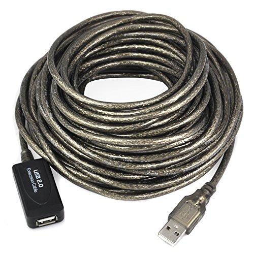Cable alargador USB 2.0, macho a hembra, 5 o 10 m de...