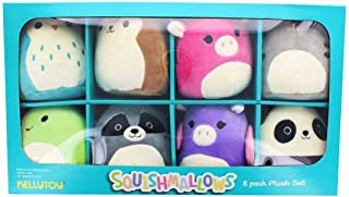 Squishmallows minis 8 Pack Plush Set, Multi-Colored