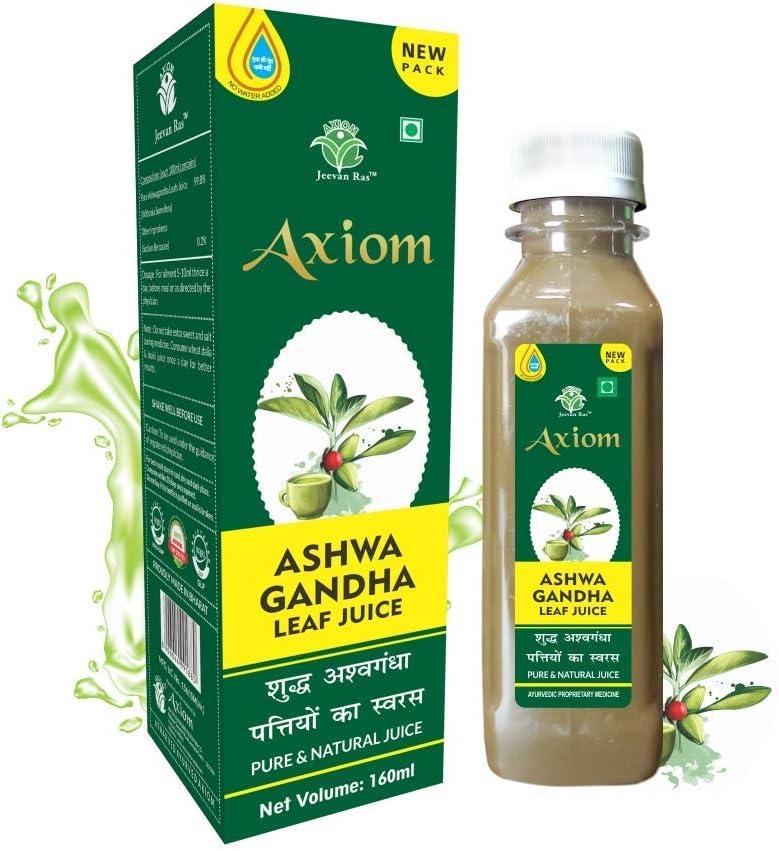 Dharma Jeevanras free shipping Axiom Ayurveda Great interest Ashwagandha Leaf Juice