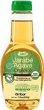 Enature Jarabe de Agave Orgánico, Ámbar, 330 g