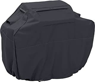 Classic Accessories 55-391-040401-EC Ravenna Water-Resistant 64 Inch BBQ Grill Cover,Black,Large