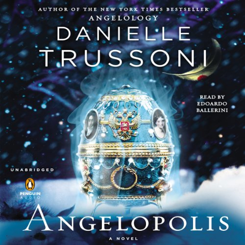 Angelopolis audiobook cover art