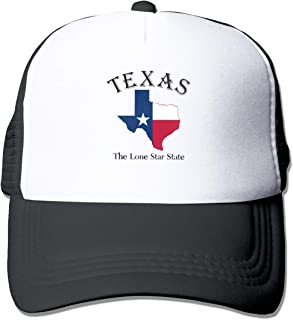 HOTSELL-Makemoney.forever Texas Lone Star State, Fashion Mesh Hat Adult Cap Unisex Summer Adjustable
