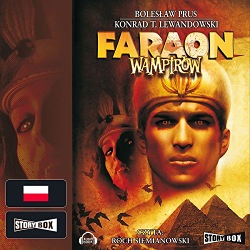 Faraon wampirów audiobook cover art