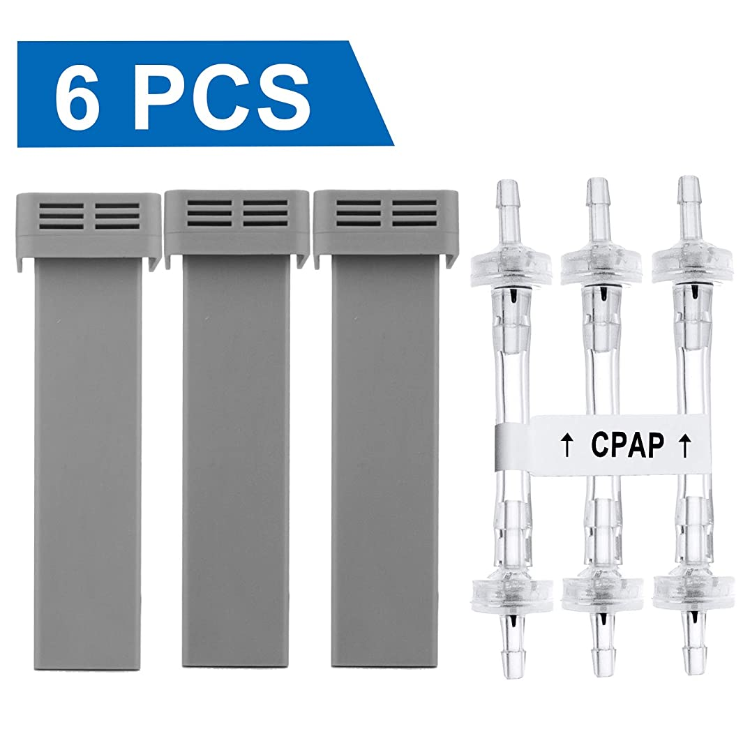 Cartridge Filter Kit 6 Packs - Include 3 Cartridge Filters with 3 Check Valves - Generic Cartridge Carbon Filter Kit Supplies by Medihealer