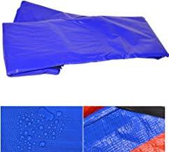 GDMING-Tarpaulin Waterproof Heavy Duty Tent Tarps Garden Plants Thermal Insulation Uv/rain/Snow All Seasons Edge Metal Eyelet Easy to Install, 19 Sizes (Color : Blue, Size : 8.8x8.8m)